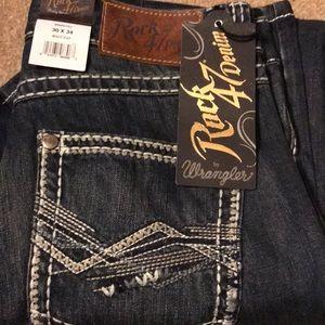 Rock 47 Denim Men's Jeans by Wrangler